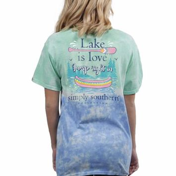 Simply Southern short sleeve fashion t-shirt for women