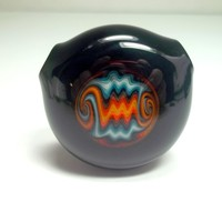 Hollow Reversal Pendant by Ed DuBick Ready to Ship