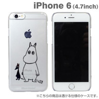 Moomin Character Soft Type Case for iPhone 6 (Moomin)