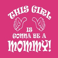 New Mom Shirt Mommy Tee This Girl Mother T Shirt Pregnancy Announcement S M L XL