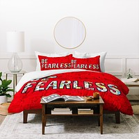 Amy Smith Be Fearless Duvet Cover