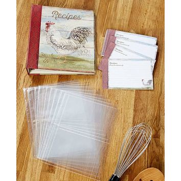 Favorite Recipe Storage Keeper Organizer Binder