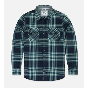 Jetty Arbor Flannel-Blue