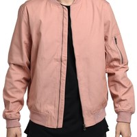 Canvas Jacket in Dust Rose