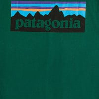 Patagonia Long-Sleeve P6 Logo Tee - Urban Outfitters