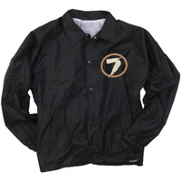 Sevendust Men's  Windbreaker Black Rockabilia