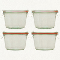 12.5oz Weck Jar--Set of 4