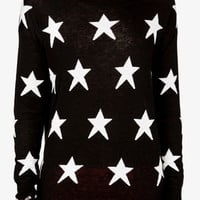 Open-Knit Star Sweater | FOREVER 21 - 2049256909