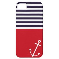Classic Nautical iPhone 5 Cover from Zazzle.com