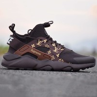 Nikeair Huarache Lv Running Sport Casual Shoes Sneakers Coffee G Csxy