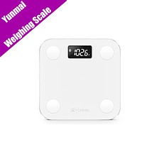 Original Yunmai Mini Smart Weight Scale Digital Scale Body Fat Scale Health Scale Support Android4.5 IOS8.0 Bluetooth4.0 (White)