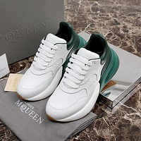 Alexander McQueen Coloured Broad Sports Shoes-3