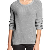 Banana Republic Womens Factory Shaker Knit Sweater