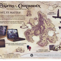 Disney Parks Theme Park Edition Pirates of the Caribbean Battleship Game New