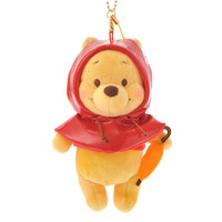[Disney Store]Stuffed Toy Pooh rain poncho keyholder keychain with: If you want to buy presents and gifts online, we recommend the Disney Store.
