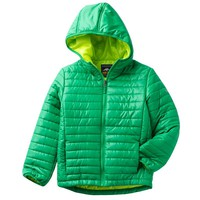 Arctic Quest Solid Bubble Jacket - Boys 8-20, Size: MEDIUM (Green)