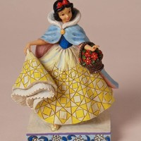 Disney Traditions by Jim Shore Snow White Winter Figurine, 7-1/4-Inch