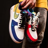 NIKE AIR FORCE 1 07 LV8 New Fashion Women Men Men Casual Sport Sneakers Shoes
