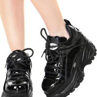 PATENT LOW CYBER SNEAKERS