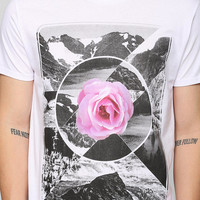 Mirrored Mountains Floral Tee - Urban Outfitters