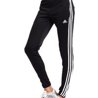 adidas Women's Tiro 11 Training Pant (Black, White, X-Large)