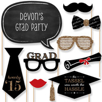 Graduation Party Photo Booth Props Kit