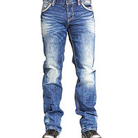 Affliction Clothing Blake Straight Fit Jeans - Calabasas