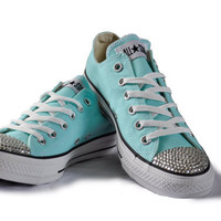 Crystal Converse Chuck All Star Shoes