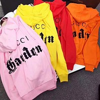 Gucci Colorful Museum Series Fashion Pullover Hoodie