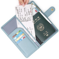 Monopoly Travel RFID blocking long passport case ver.3