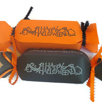 Halloween Treat Boxes - Candy boxes - Trick or Treat - Pack of 10
