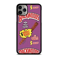 ONLY BACKWOODS CIGARS iPhone 11 Pro Max Case