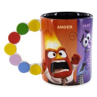 Disney Parks Pixar Inside Out Anger Fear Disgust Sadness Joy Coffee Mug New
