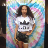 Swag style adidas crop top festival sassy street style