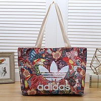 ADIDAS Women Fashion Leather Tote Satchel Handbag Shoulder Bag