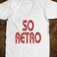 So Retro - 80s Design T Shirt - Tops / clothes for women, men and kids