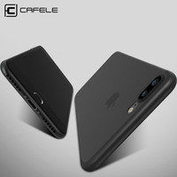 CAFELE Original No-Fingerprint Ultra Thin Phone case for iphone 7 cases flexibility Simple PP Scrub cover for iphone 7 plus