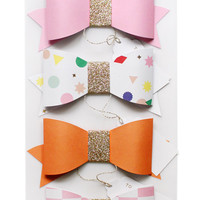paper gift bows
