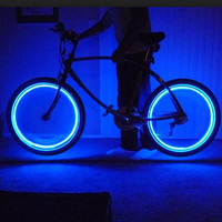 4Pcs Led Flash Tyre Wheel Valve Cap Light For Car Bike Bicycle Motorbicycle Wheel Light Tire Light