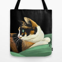 My lovely cat Tote Bag by BATKEI