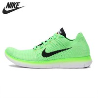 Original NIKE FREE RN FLYKNIT Men's Running Shoes Sneakers