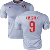 Mandzukic Jersey Atletico Madrid Away 2014-2015