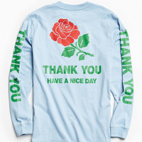 Thank You Rose Long Sleeve Tee | Urban Outfitters