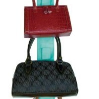 Master Craft Handbag Hangup Double-Sided Purse Organizer, Turquoise