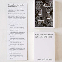 Game Of Phones Card Game | Urban Outfitters