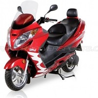 260cc Gas Scooter Touring