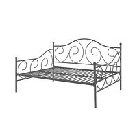 Full Size Metal Daybed Contemporary Design in Bronze Finish