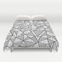 Abstract Spots Duvet Cover by Project M | Society6