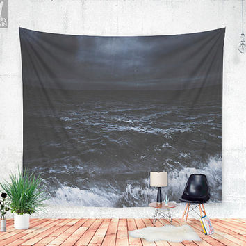 Lost in the sea Wall tapestry