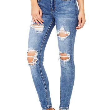 Stardust Ankle Skinny Jeans